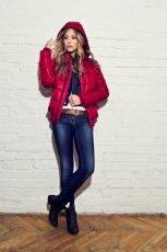czerwona kurtka Big Star - jesie�/zima 2011/2012