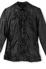 czarna kurtka Mohito - trendy na jesie�-zim�