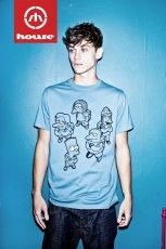 b��kitny t-shirt House z nadrukiem - jesie�/zima 2011/2012