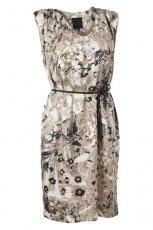be�owa sukienka InWear we wzory - trendy na jesie�-zim�