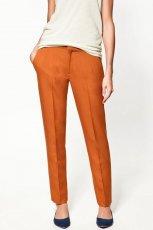 pomara�czowe spodnie ZARA - jesie�/zima 2011/2012