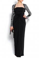 czarna sukienka wieczorowa Mango - jesie�/zima 2011/2012