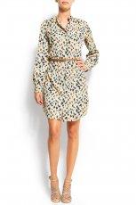sukienka Mango we wzory - jesie�/zima 2011/2012