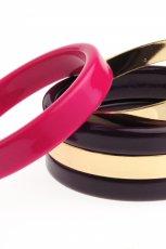 kolorowa bransoletka H&M - jesie�/zima 2011/2012