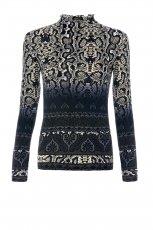 bluzka Mango we wzory - jesie�/zima 2011/2012