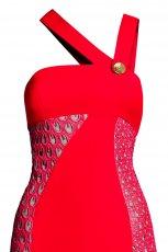 czerwona sukienka Versace dla H&M - jesie�/zima 2011/2012