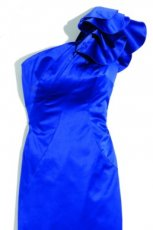 niebieski sukienka Orsay z kokard� - jesie�/zima 2011/2012