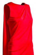 czerwona sukienka H&M - jesie�/zima 2011/2012