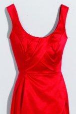 czerwona sukienka Orsay - jesie�/zima 2011/2012