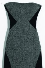 grafitowa sukienka Orsay - jesie�/zima 2011/2012