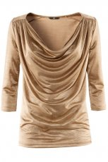 z�ota bluzka H&M - jesie�/zima 2011/2012