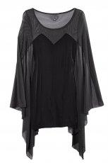 czarna sukienka wieczorowa H&M - jesie�/zima 2011/2012
