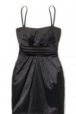 czarna sukienka wieczorowa House - zima 2011/2012