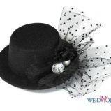 czarny kapelusz Mohito - zima 2011/2012
