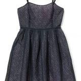 czarna sukienka wieczorowa Mohito - zima 2011/2012