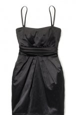 czarna sukienka House - jesie�/zima 2011/2012