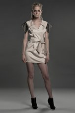 z�ota sukienka Sebastian Kubiak - jesie�/zima 2011/2012