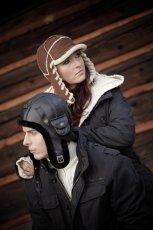 czarna czapka Gena - jesie�/zima 2011/2012