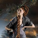 foto 4 - Długie włosy - fryzury na imprezę 2011/2012