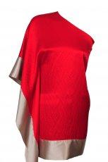 czerwona sukienka Simple - zima 2011/2012