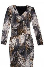 sukienka Aryton w zwierz�ce wzory - zima 2011/2012