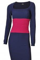 granatowa sukienka Gatta - zima 2011/2012