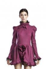 r�owa sukienka Bizuu z bufkami - jesie�/zima 2012