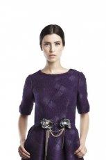 fioletowa sukienka Bizuu - kolekcja zimowa