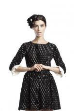 czarna sukienka Bizuu - kolekcja jesienno-zimowa