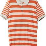 koszulka H&M w paski polo - wiosna-lato 2012