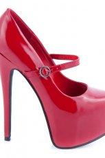 czerwone szpilki DeeZee - trendy na jesie�-zim�