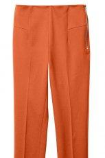 pomara�czowe spodnie H&M z kantem - wiosna/lato 2012