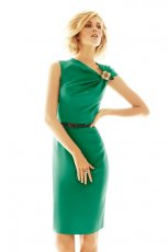 zielona sukienka Max Mara - wiosna 2012
