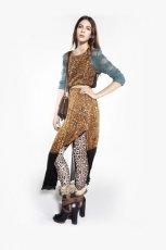 sukienka Topshop w panterk� - zima 2011/2012