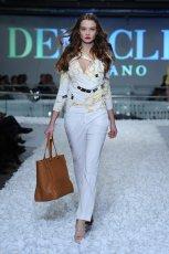 bia�e spodnie Deni Cler - wiosna 2012