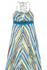 kolorowa sukienka C&A w paski - wiosna/lato 2012