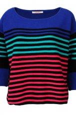 kolorowa bluzka Camaieu w paski dzianinowa - wiosna/lato 2012