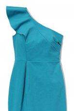 niebieska sukienka DanHen asymetryczna - wiosna/lato 2012
