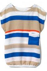 bluzka Reserved w paski - moda 2012