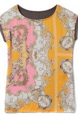 kolorowa bluzka Reserved we wzorki - kolekcja wiosenno/letnia
