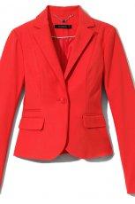 czerwony �akiet Reserved - moda wiosna/lato