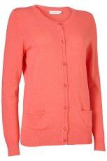pomara�czowy sweter Jackpot rozpinany - wiosna 2012