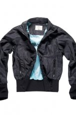 czarna kurtka Big Star ze sk�ry - wiosna 2012