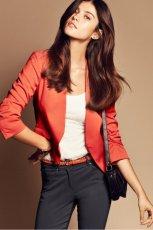 czerwony �akiet H&M - wiosna/lato 2012