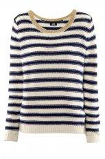 sweter H&M w paski - trendy wiosna-lato