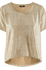 z�ota bluzka H&M - wiosna/lato 2012