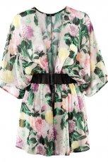 bluzka H&M w kwiaty - trendy wiosenne
