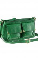 zielona torebka H&M - trendy wiosna-lato