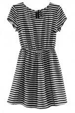 sukienka H&M w paski - sezon letni