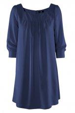 granatowa sukienka H&M - wiosna-lato 2012